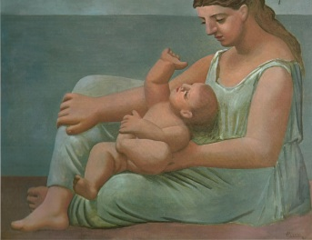 (1)Mother and Child Picasso