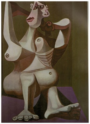 (3) Woman Dressing Her Hair Picasso