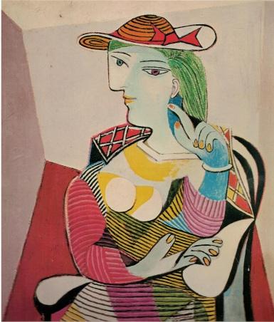 (4) Dora Maar Picasso