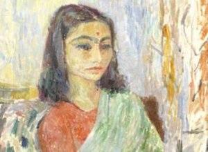 فتاة هندية، جواد سليم